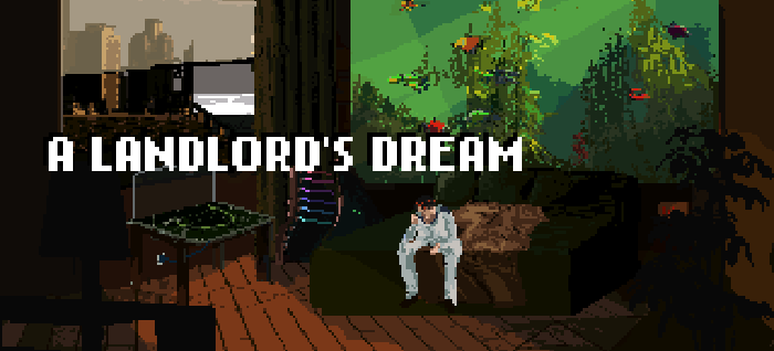 a landlord's dream, sci-fi point and click adventure game
