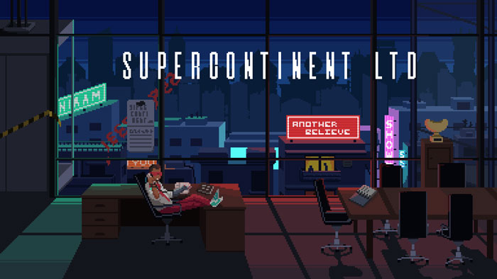 Supercontinent Ltd, cyberpunk adventure game