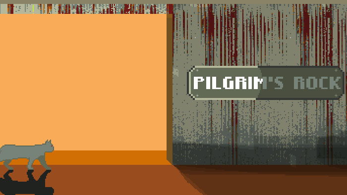 Pilgrim's Rock mockup title screenshot